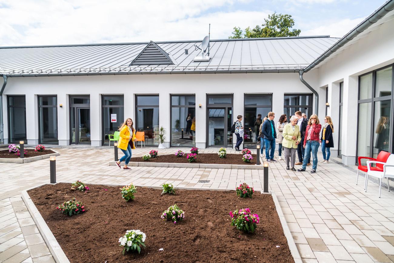 Innenhof Seniorenheim | Wohnung Speicher - Das Wohnwerk in Speicher